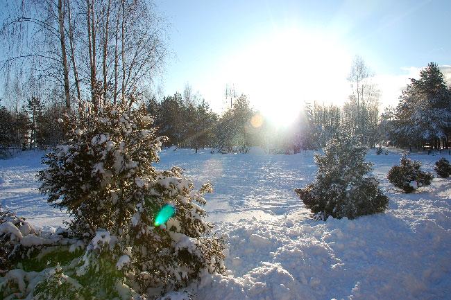 DSC 0631 Ośrodek agroturystyczny Hajduki – galeria zdjęć: zima w hajdukach