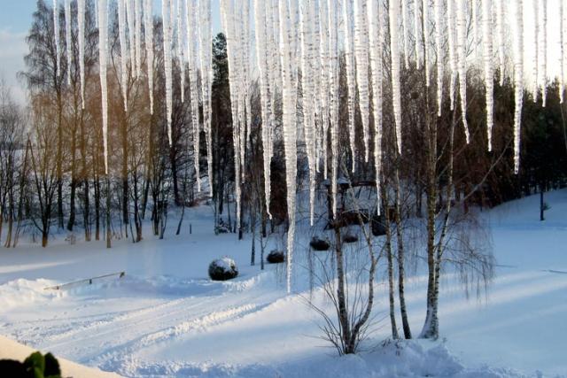 Zima w HAJDUKACH Chynowie 10 640x480 Ośrodek agroturystyczny Hajduki – galeria zdjęć: zima w hajdukach